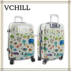 Hard Shell Beautiful Children Cartoon Luggage