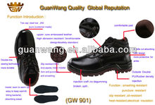 Genuine Cow Skin Men's Safety Shoes