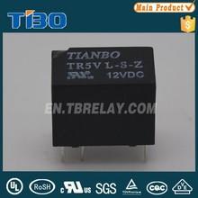 Yüksek verimli Tianbo tr5v 2a 120vac/24vdc ters güç rölesi 6 pin