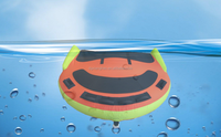 "water sports towable water ski tube Inflatable swimming ring 75"" D shape"