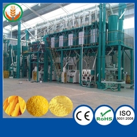 Automatic maize mill grinding machines high efficiency with prices