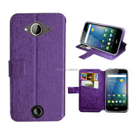 for acer liquid z530 case purple wallet leather case high quality with factory price