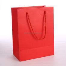 Paper wine bottle bag carrier/portable wine cooler bag