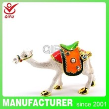 QF3819 Factory Direct crystal souvenir gift item camel craft art for birthday party