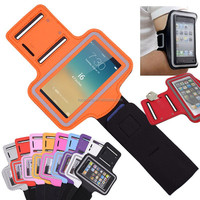 Color Premium Sports Running Jogging Gym Armband Case Cover Holder for iPhone 5S 4S 4