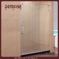 affordable guide rail showers/shower screen with low price