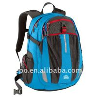 Personality style school backpack bags for teens with high quality polyester