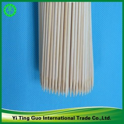 2015 Personalized Manufactured Natural Disposable BBQ /Food/Fruit Bamboo Skewers