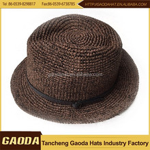2015 Hot Sale Low Price brown fedora