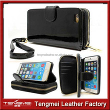 2015 Newest wallet case For Iphone 6 ,For Iphone 6 Multi-functional Case With Passport And Card Slot