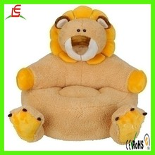 LE C1549 OME factory wholesale stuffed colourful plush baby animal sofa chair