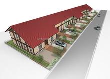 Luxury villa, modular home luxury villa / prefabricated luxury villa / prefab steel frame villa made in china