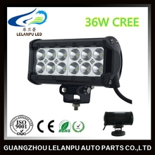 LED Auto lighting waterproof IP68 6.5 inch 36W dual row LED light bars for trucks
