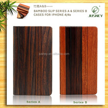 Factory directly real wood for iphone 6 wallet case/for iphone5 flip cover case with card holder