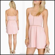 2015 Sleeveless Custom Sublimation Middle Aged Women Lady Fashion Dress RJLD8012