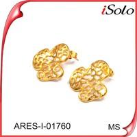 women accessories china luxury fashion fabric fashion accessory latest gold earring