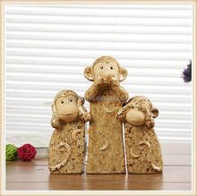cheap monkey figurine for 2016 new year promotional gift