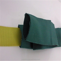 Guanglian research & development 100% Polyester 38mm wide dark green Tubular Webbing Manufacturers Wholesale and Retail