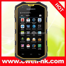 4.0 Inch IP67 Waterproof MTK6572 Dual Core 3G Hummer H5 android smart phone