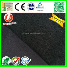 Plain polyester softshell fabric waterprooffor jacket