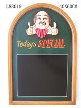 "bar decoration furniture, Decoration ""today's speacial offer menu resterant writing menu board, wooden writing menu board"