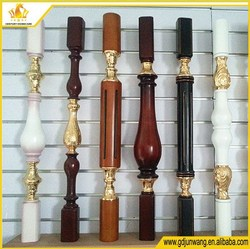 2015 new design solid wood post support for indoor