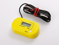 Hot selling! Inductive lcd water proof Tachometer Hour Meter For Motocross ,ATV,boat,Generator, gas enginee ,