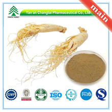 GMP Factory Supply Organic ginseng extract (total saponins)