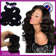 Hot selling products wholesale cheap body wave virgin brazilian hair extension
