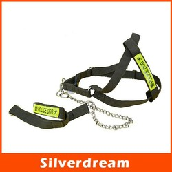 Nylon Material Animal Products Pet Police Dog Harness