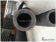 flexible abrasion resistant NR material tube Sandblast / Gunite Hose