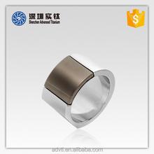 Newly Design Mens Titanium Decoration Ring