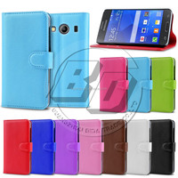 wholesale mobile phone case wallet PU leather card filp stand case cover for samsung galaxy ace style lte g357