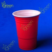16oz ps red plastic cup