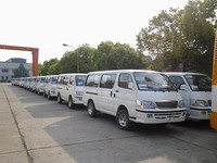 China Brands High Roof Minibus