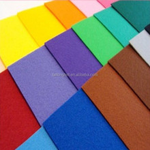 Colored 100% wool felt