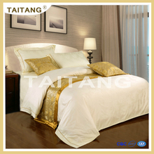 2015 cheap price hotel comfort printed style 4 pieces egyptian cotton bedding linen