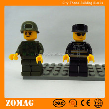 New Safety Assembled City Police Figure