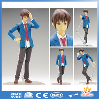 Wholesale 6 inch pvc plastic action figure anime oem, custom design action figure pvc