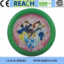 Simple Designed Wholesale 12 inch Wall Clock Plastic