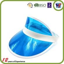 New arrvial UV protection custom plastic sun visor cap