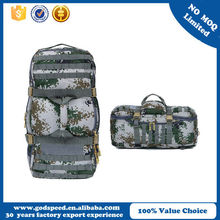 1000D nylon hiking travel bag, military tactical backpack