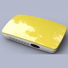 New design HD DVB-S2 + ISDB-T TV box twin tuner/STB