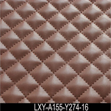 Double Layers PU/PVC Sponge Leather for Shoes, Sofa and Bags