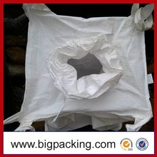 Most popular product jumbo bag/ bulk bag/ big ton bag for sand OEM recycled jumbo bag manufacturer