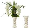 Recuerdo grandes jarrones de porcelana venta para la decoración casera JHF14-2296A