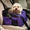 Pet Dog Cat Car Seat Safety Carrier Crate Cage Dog Folded Travel Shoulder Bag