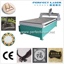 Plastic/Wood/ MDF/Plexiglas/Organic/Acrylic Kosso Wood CNC Engraving Machine for hot sale