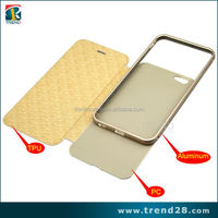 two mobile phones leather case for iphone 6 plus, blu cell phone cases for iphone 6 plus