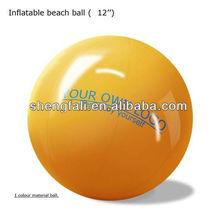 Pvc inflable pelota de playa con logo